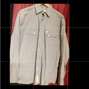 Larry Mahan - Large- Men's Shirt with pearl snaps